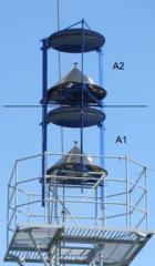 Антенна приемопередающая головного комплекта мультимедийной станции UWDS