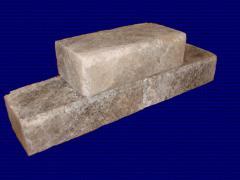 Кирпич из соли, соляная плитка как строительный