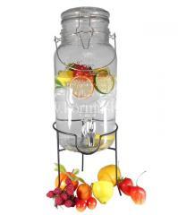Лимонадница 4 л с стеклянной крышкой (на...