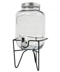 Лимонадница 4 л с металлической крышкой (на...