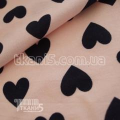 Summer cloth fabric cotton (hearts)