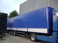 Тенты для грузовых автомобилей, тенты для