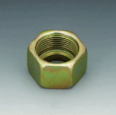 Cap nut of UEM. Connection 1, metric nut carving,