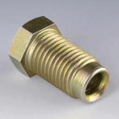 Накидной винт UES 3/8-24 Zoellig для трубопроводов тормозного привода. Тип USB. Соединение 1-Дюймовая наружная резьба Соединение 2-Трубное соединение. Соединение 3-Наружная резьба BSP