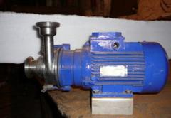 Pump of the rotor and vortex CBB-1,25M/1 brand.