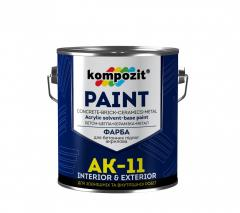 Paint acrylic for concrete floors of AK-11