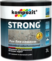 The varnish on STRONG® stone - is intended for
