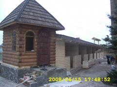 Barracas, tendas de madeira pré-fabricados