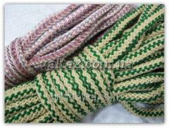 Cord household knitted tekstirovannyj 8/25/290kg Pak 1/1