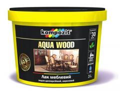 Лак мебельный AQUA WOOD водоразбавляемый...