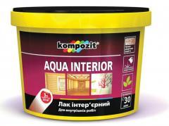 Water deluting varnishes of Kompozit®