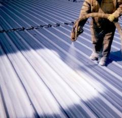 ППУ  - материал для гидроизоляции крыши