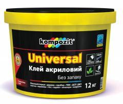 Waterproof acrylic UNIVERSAL glue of universal