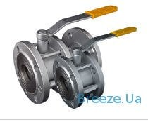 Crane sharovy steel 11s41p BREEZE Du50-400 Ru16