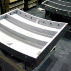 Шахтный тюбинг чугунный тип 7,5-50 для строительства метрополитенов и шахт, пр-во Днепротяжмаш, Украина