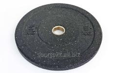 Бамперные диски для кроссфита Bumper Plates из