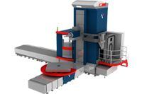 Horizontally boring machines with WRF series ChPU