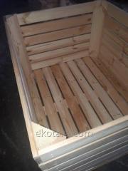 Đồ đựng bằng gỗ