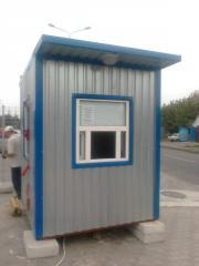 Блок-посты охраны, Донецк