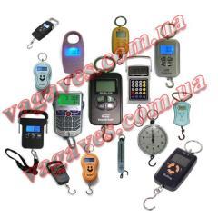 Electronic kanter (manual scales)