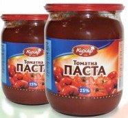Tomato Paste of 25%