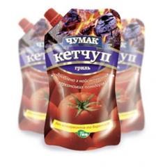 """Кетчупы от производителя, Кетчуп """"Гриль"""" в упаковке """"дой-пак"""" (300 г)"""