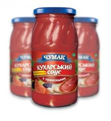 Sauces from the producer, the Kukharsky with