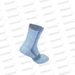 Носки треккинговые унисекс зимние серые
