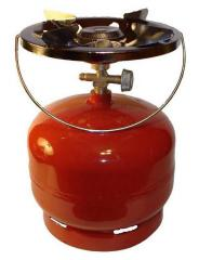 Газовый баллон 5 литров с горелкой туристический