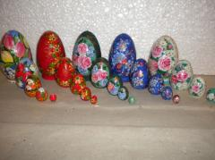 Set souvenir of 5 pieces of eggs