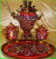 Set tea of 4 objects