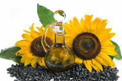 Rohes Sonnenblumenöl
