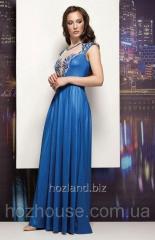 Вечернее платье в пол с вышивкой Rica Mare
