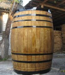 Barrel model for advertizing of beer, wine, for