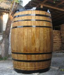 Barrel model for advertizing of beer, wine, for