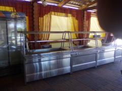 Food service counters