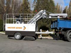 Підмітальна машина КВБЗ-4002 «Чистий шлях»