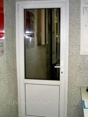 Межкомнатные металлопластиковые двери WinOpen
