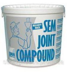 Шпаклевка SEMIN (Семин) SEM JOINT Compound, 25кг