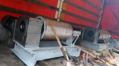 Winch type LSP skip hoist shaft for lime-kiln gas