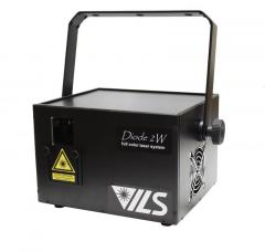 Diode laser projector of ILS-Diode-2W