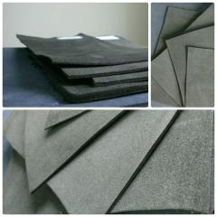 Материал для производства обуви и элементов одежды