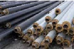 Previously insulated pipes