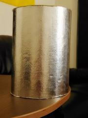 Теплоизоляция для труб с фольгой