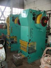Crank presses