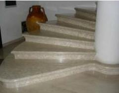 Ladders from granite and marble