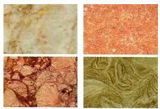 Tile marble for a floor: polishing, polishing