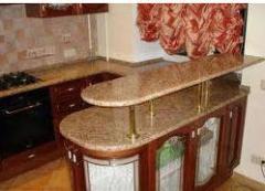 Table-tops from granite: polishing, polishing