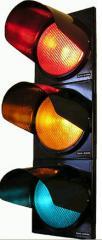 Traffic lights road light-emitting diode PE2020 -