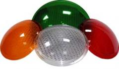 Light filters for traffic lights - 200 mm, 300 mm.